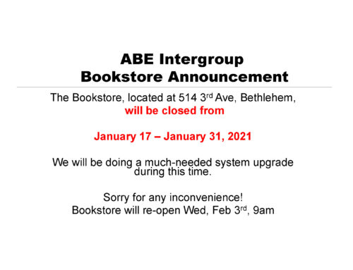 Bookstore-Temporary-Closure-JAN-2021